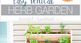 DIY Vertical Garden with Drip Watering System