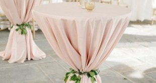Event planning Perfect shade of #blushtablecloths, get your linens here! Blush ...