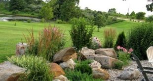 How To: Landscaping with Rocks The design of a rock garden and layout of stones ...