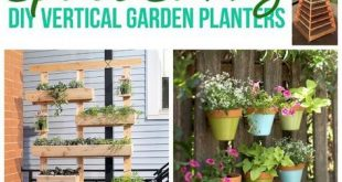 {The BEST} DIY Vertical Gardens for Small Spaces