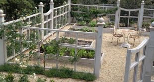 like the idea of this around the kitchen garden.