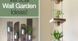 13 Stunning Indoor Vertical Garden Planter Ideas & Projects