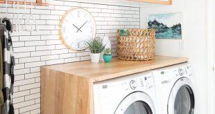 15 DIY Möglichkeiten, Ihre Waschküche eine schnelle Umarbeitung geben