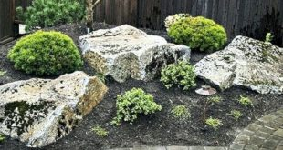 40+ Marvelous and Popular Rock Garden Design For Your Front Yard Decoration