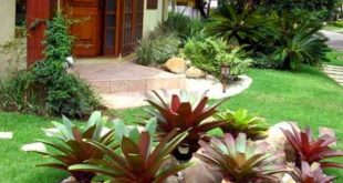 Awesome 65 Awesome Front Yard Rock Garden Landscaping Ideas source link : decort...