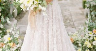French Garden Wedding Inspiration at Château de la Villette