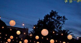 Hochzeit - Wunderschöner Hochzeitsempfang bei Nacht im Wente Vineyards Cresta Blanca Event ... - Halide Altınkaya