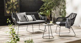 Schwarzer und weißer Garten des städtischen Treffens - The Best Latex Mattresses