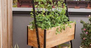 interior:Raised Garden Apartment Balcony Luxury Cedar Planter Box Flower Boxes Canada Railing