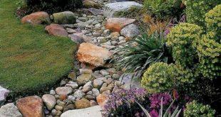 01 Gorgeous Front Yard Rock Garden Landscaping Ideas