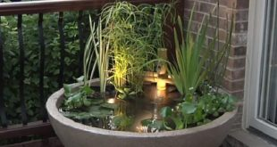 12 Soothing DIY Container Water Feature Projects