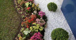 25+ Wunderschöne Vorgarten Steingarten Landschaftsgestaltung Ideen # Gartenbau