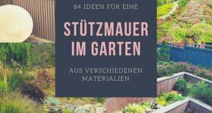 Die Stützmauer im Garten ist ein Gestaltungs-und Landschaftselement von zentral...