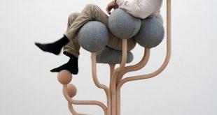 Garden chair by Peter Opsvik's