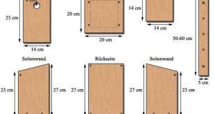 Nistkasten bauen / Nisthilfen für Höhlenbrüter: Meise, Haussperling, Feldsper...