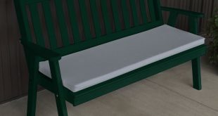 Outdoor A & L Furniture Yellow Pine Royal English Garden Bench Natural Stain