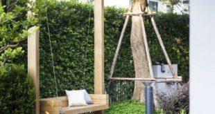 18+ Ideas Garden Bench Modern Backyards