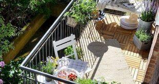 20 fantastische Balkon Garten Dekor Ideen