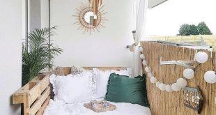 24 Möglichkeiten, wie Sie Ihren Balkon in Ihrem kleinen Apartment optimal nutzen können - Balkon Deko