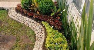 25 Schöne kleine Steingarten Landschaftsgestaltung Design-Ideen #gardendesign #...