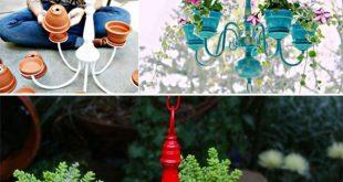 29 wahnsinnig kreative DIY Pflanzer Ideen von Haushaltswaren ...