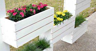 32 DIY Paletten und Holz Pflanzer Box Ideen für Ihren Garten