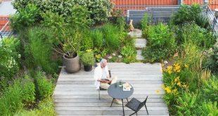33 Wunderschöne Gartenideen auf dem Dach um Ihr urbanes Zuhause zu verschönern