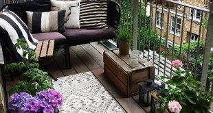 37 Fabelhafte kleine Wohnung mit Balkon Dekorationsideen - Natasha Caufield