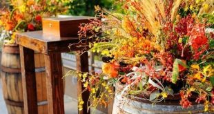47 zauberhafte Herbstgarten-Hochzeitsideen