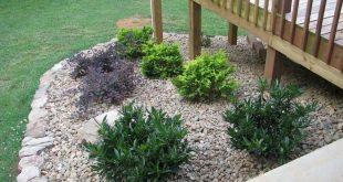 65+ Wonderful Front Yard Rock Garden Landscaping Ideas