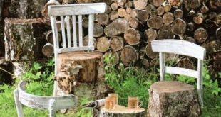 DIY Gartenmöbelideen – Kleines Stück von mir #gartenmobelideen #kleines #stuc…