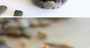 DIY Imitat-Stein-saftiger Pflanzer. Wir möchten uns bei Ihnen bedanken, wenn Si