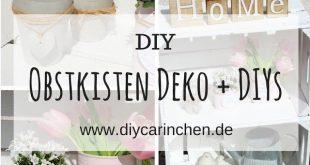 DIY: Mit Obstkisten den Garten dekorieren? Wie wäre es mir dieser tollen Idee