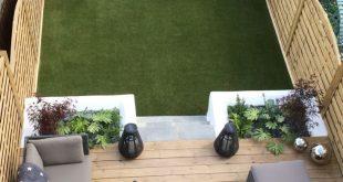 Decking Gartenmöbel und Pflanzgefäße #gardenfurnitureideas #gartenmob - #De...