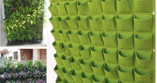 Details about Decorative Foldable Reusable Polyester Garden Wall Hanger Planter Bag Lot Cells
