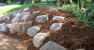 Don't hire a landscaper to build a boulder wall when boulder outcroppings wi...