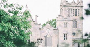 Elegant Garden Wedding at Lyndhurst Castle