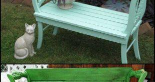 Inspiriert, Ihre eigene Gartenbank zu bauen? garden bench
