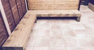 Look this awesome Garden bench Blue Ideas 9052974903 #cementbenchgarden #gardenb...