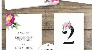 ROSE MARRY Hochzeitskarten - wilde Romantik in Aquarell