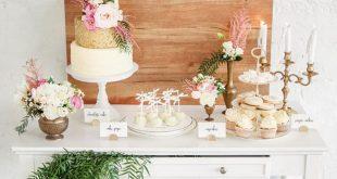 Romantic Indoor Garden Wedding Inspiration