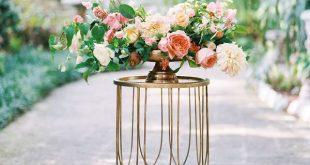 Romantic Tropical Garden Wedding Inspiration