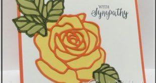 Using the new Rose Garden Thinlets, Rose Wonder Stamp Set, Stampin' Up!, #stampi...