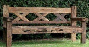 Wooden Bench Ideas Outdoor_35