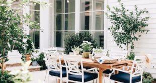 garten terrasse veranda balkon idee dekor pflanzen landhausstil landdesign Balcony Konzept - Konopelskith